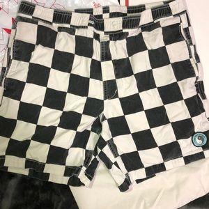 Pacsun Checkerboard Board Shorts
